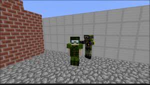 The Zombie Apocalypse Mod - мод на зомби апокалипсис в майнкрафт [1.8]