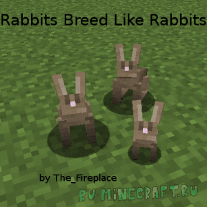 Rabbits Breed Like Rabbits [1.12.2] [1.11.2] [1.10.2] [1.9.4] [1.9] [1.8.9]