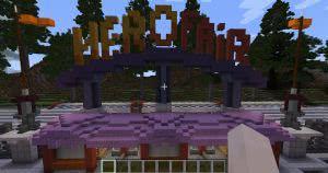 Карта HeroFair Amusement Park - работающий парк аттракционов [1.12.2]
