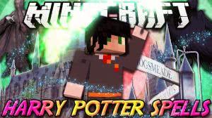 Harry Potter Spells Mod - мод на Гарри Поттера  [1.7.10]