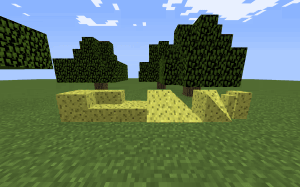 Blockcraftery - блоки разных форм [1.12.2]