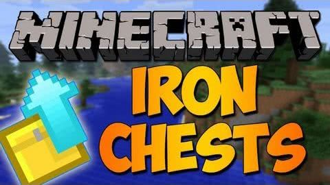Iron Chests Mod - Сундуки для Minecraft [1.7.2][1.7.10][1.8]