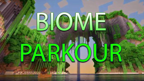 Biome Parkour - паркур в биомах [1.12+]