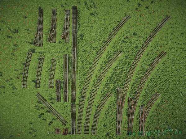 Rails of war - паровозы [1.12.2] [1.7.10] [1.6.4]