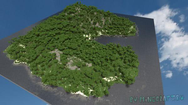 The Sea Island - Карта для выживания [MAP][1.5.2+]
