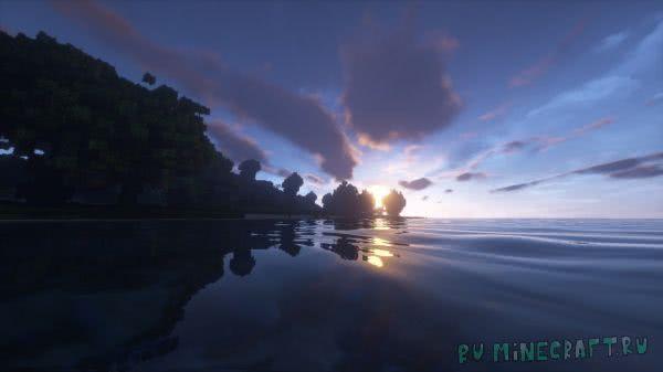 Черепаший остров - Карта для выживания в Майнкрафт