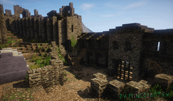 Castle Ruin - карта руины древнего замка [Map]