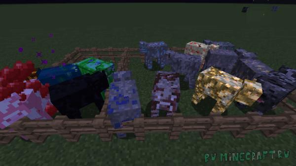 Useful Cows mod - новые коровы [1.12.2] [1.12.1]