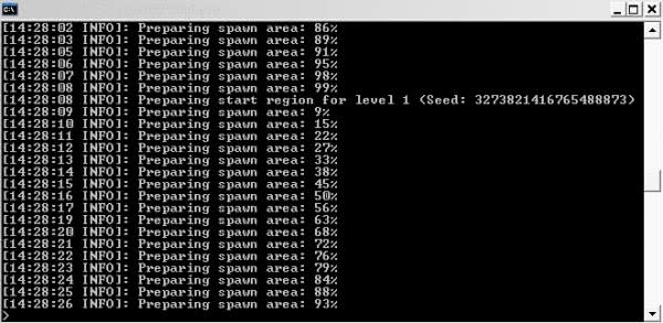 Создание сервера майнкрафт на своем компьютере [1.8]