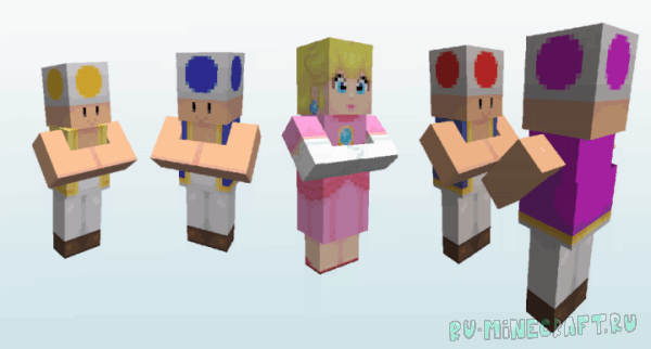 New Super Minio Bros. [1.12.2] [16x16]