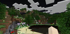 Изменение цвета воды и неба в разных биомах [Ресурспак] [1.12] [1.11] [1.10]