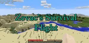 Zevac's Survival Flight - полет в выживании [1.12.2] [1.12.1] [1.11.2]