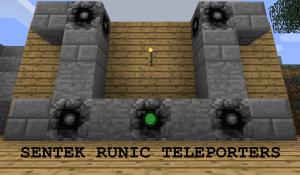 Sentek Runic Teleporters [1.12.2] [1.11.2] [1.10.2] [1.9]