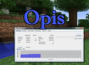 Opis - оптимизация клиента и сервера [1.7.10] [1.6.4]