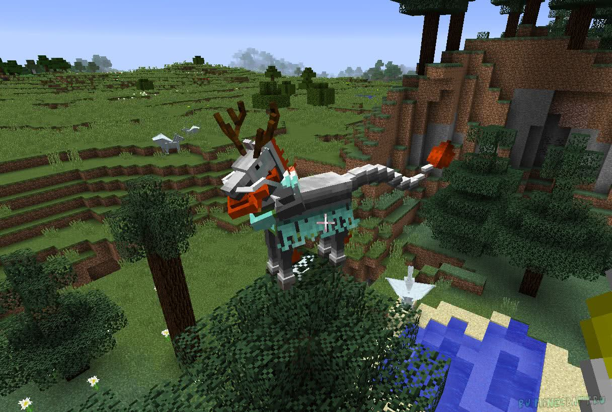 Ultimate Unicorn mod - летающие единороги [1 12 2] [1 11 2