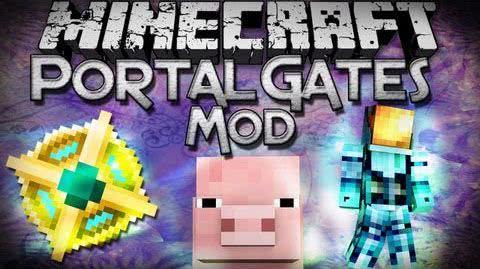 Portal Gates 2 Mod - порталы [1.8] [1.7.10]