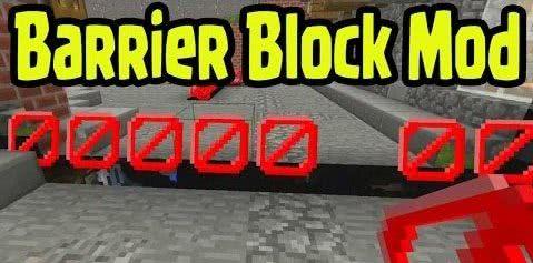 Craftable Barrier Block - крафт барьера [1.10.2] [1.9.4] [1.8.9]