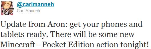 Обновление для Minecraft - Pocket Edition скоро выйдет свет!