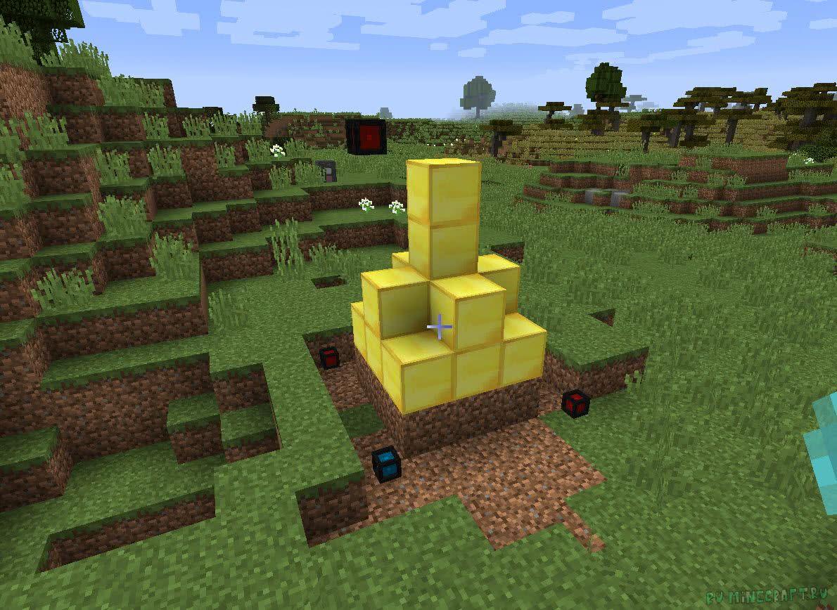 мод майнкрафт копирование блоков