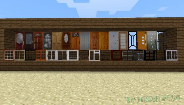 SimCraft - украшения для дома, двери, окна [1.11.2] [1.6.4] [1.6.2]