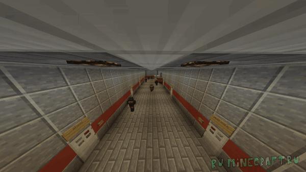 Убежище №1 - огромное подземное убежище [Map][1.12+]
