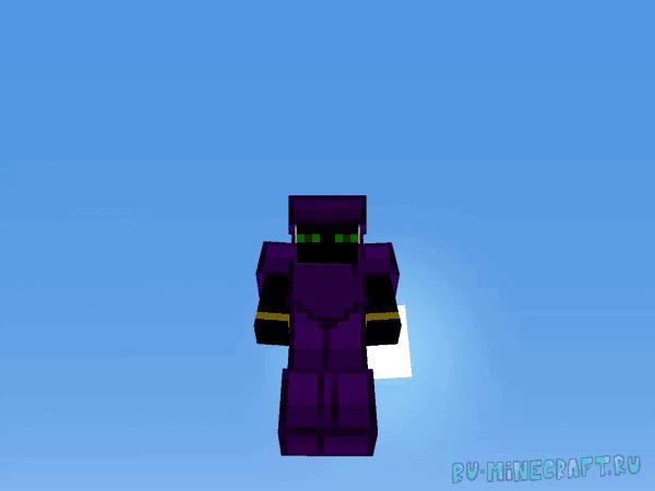Garnet - Фиолетовый ресурспак [1.8.9] [1.7.10] [32x32]