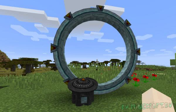 Star Gate (SG Craft) (Atlantiscraft) [1.12.2] [1.10.2] [1.8.9] [1.7.10]