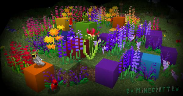 Ferdinand's Flowers - много новых цветов [1.12.2] [1.12.1]