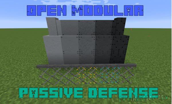 Open Modular Passive Defense [1.12.2] [1.11.2] [1.10.2]