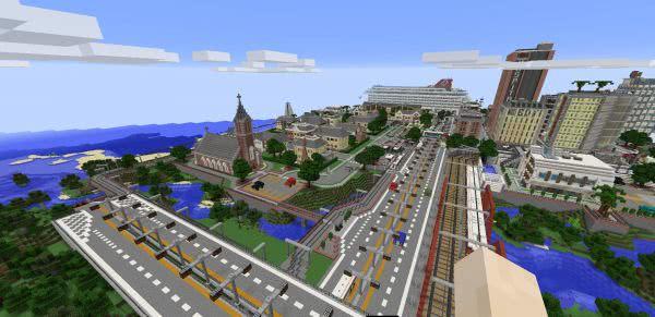 Port Vance - красивый, уютный, качественный город [1.12.2] [1.11.2]