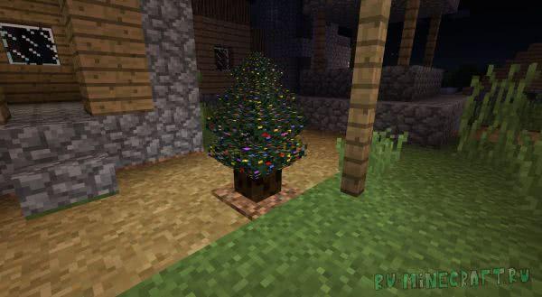 Christmas Festivity - новогодниерождественские декорации [1.12.2] [1.11.2]