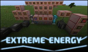 Extreme Energy - индустриальный мод [1.12.2] [1.11.2]