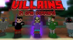 Villains - мобы для командного блока [1.12.2] [1.12.1]
