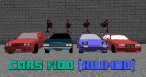 xujmod Cars Mod - настоящие машины [1.10.2]