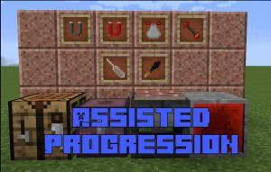 Assisted Progression - полезный инструмент [1.14.4] [1.12.2] [1.10.2]