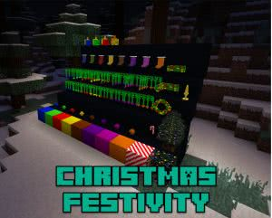 Christmas Festivity - новогодние\рождественские декорации [1.12.2] [1.11.2]