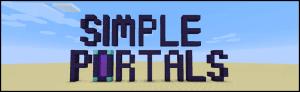 Simple Portals - простая система порталов [1.16.5] [1.15.2] [1.14.4] [1.12.2] [1.11.2]