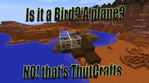 ThutCrafts - летающие постройки  [1.12.2] [1.10.2] [1.9.4]