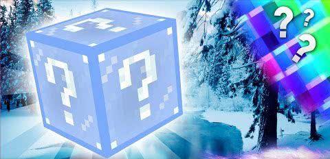Frosty  Lucky Block Mod - морозный\зимний лаки блок [1.7.10]
