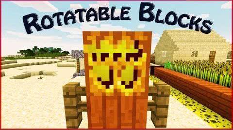 [1.7.2] Rotatable Blocks - Перевернутые блоки?