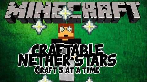 Craftable Nether Star - крафти звезду ада [1.8.9] [1.7.10] [1.6.4] [1.5.2]