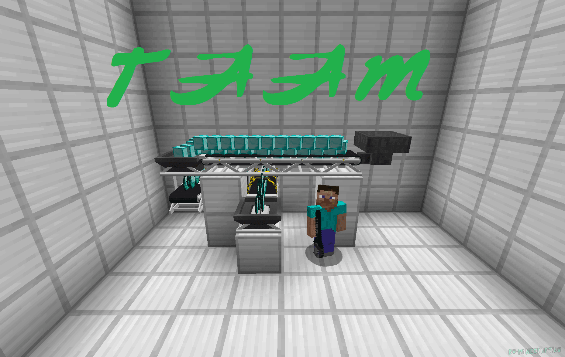 Minecraft мод на конвейеры кто пользуется конвейеры