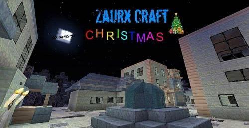 [1.6.4-1.7.4][x32] Zaurx Craft - Рождественский ресурс-пак