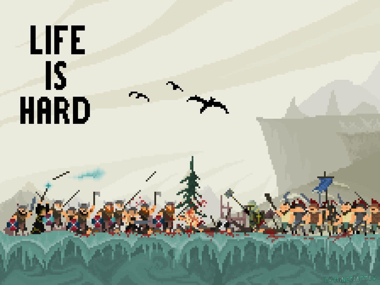 [Разное][В разработке] Life is hard – симулятор бога с элементами стратегии