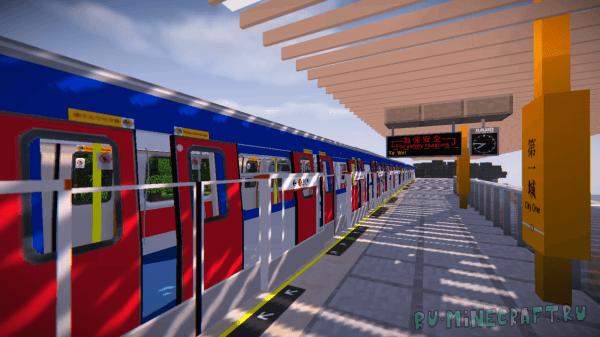 Minecraft Transit Railway [1.10.2] [1.8.9]