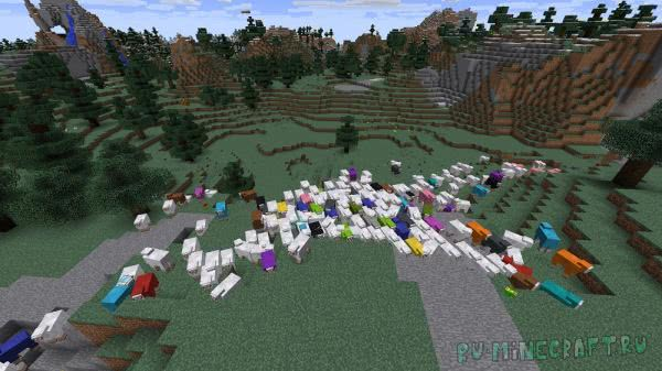 Colorful Sheep [1.12.2] [1.12.1]