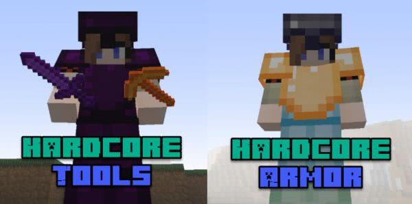 Hardcore Armor и Hardcore Tools [1.12.2]
