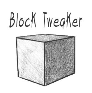Block Tweaker [1.12.2]
