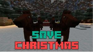 Save Christmas map - паркур карта Спасти рождество [1.12.2] [1.11.2]