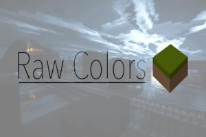 RawColors - гладкие текстуры [1.12.2] [1.11.2] [16x]